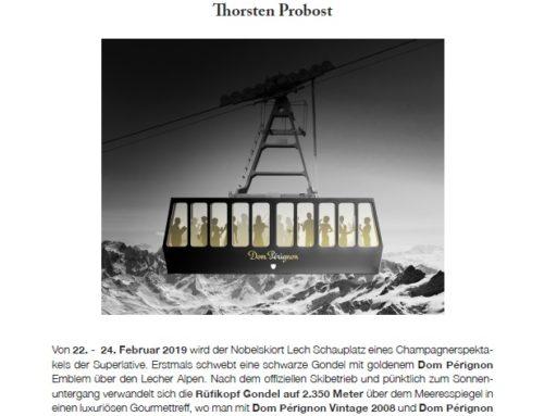 Rüfikopfbahn in Lech wird zum Gourmet Höhenflug